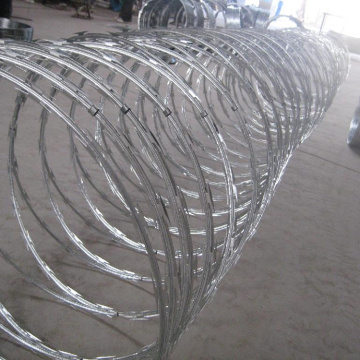BTO-22 Hot dicuri Galvanized Razor Barbed Wire