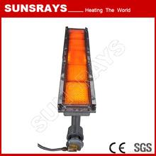 Infrared Gas Heater for Carpet Baking Glue Line