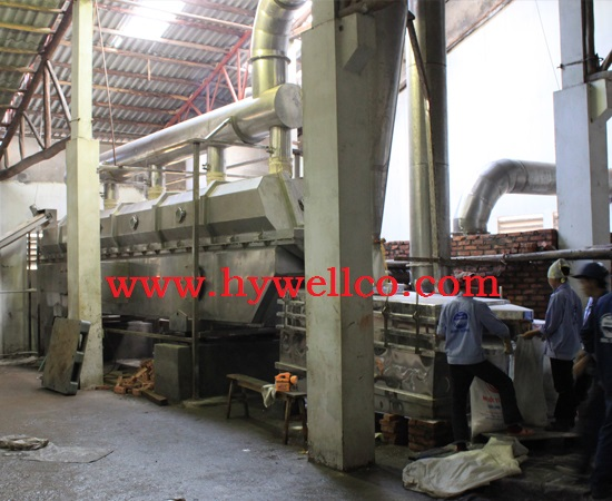 Salt Particle Drying Machine