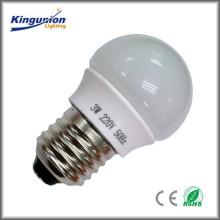¡Precio de fábrica de Kingunion! Voltaje ancho 3W / 5W / 7W / 9W LED bombilla de luz E27 / E26 / B22