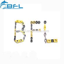 Inserts d'outil de coupe de BFL pour le traitement en aluminium, inserts de traitement en aluminium