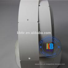 Impressão térmica impressa Personalizado em branco 300g balanço tag de vestuário de papelão