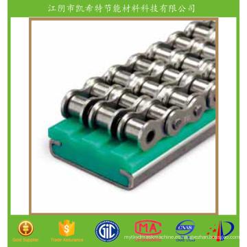 Guía de cadena plástica de nylon para línea de producción