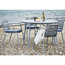 Наружная алюминиевая мебель Стул для пляжа Polywood (S297, D597)