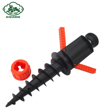Payung Pantai ABS Ground Screw Pole Anchor