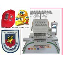 Máquina del bordado del casquillo de la cabeza de la máquina del bordado de Maya del ordenador sola 12 colores
