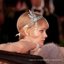 2017 coronas rebordeadas cristalinas baratas baratas de la novia de la banquete de boda