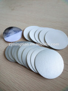 High polymer induction seal liner for glass bottle