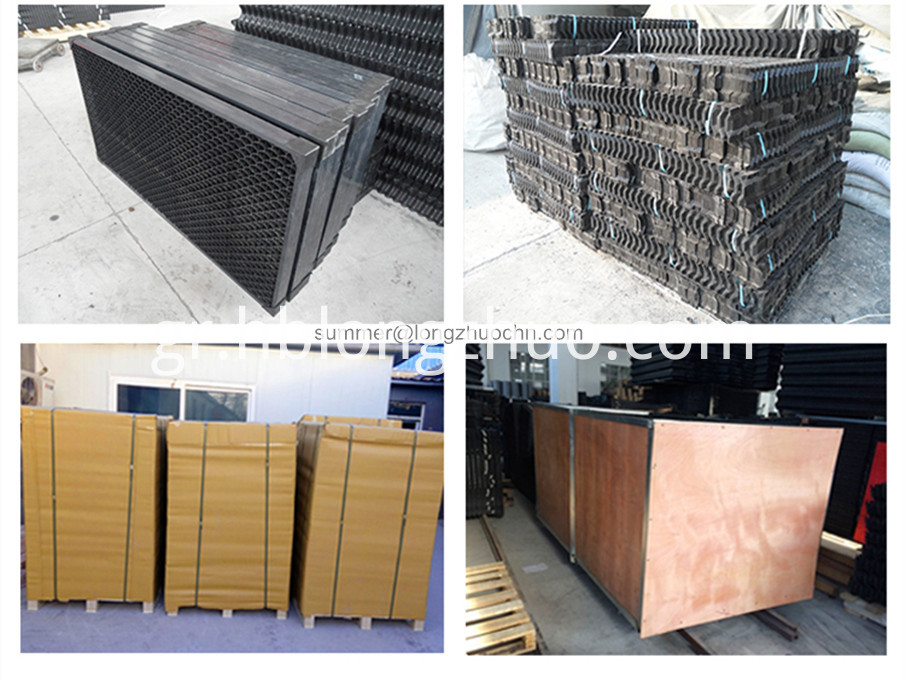 cooling tower air inlet louver
