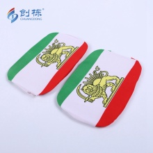 Factory Directly Custom flag design Car Mirror Cover