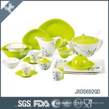 Set de vajilla de cerámica al por mayor a prueba de calor de la mejor calidad
