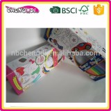 super style China supplier newest design coloring poster with water color pens