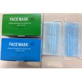 Chirurgische Gesichtsmaske Ready Made Supplier für den medizinischen Schutz Ohr-Loop Tied Kegel Typen Kxt-FM26