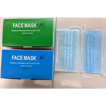 Manufacturer Kxt-fm50 Disposable Face Earloop Stock Surgical Mask