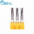 Herramientas de fresado CNC de rosca de carburo BFL, fresadoras de extremo CNC de rosca de carburo