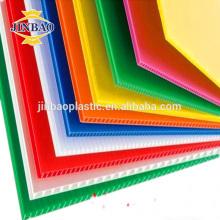 JINBAO coloré 3mm 5mm pp ondulé feuilles de plastique armoire