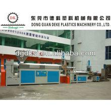 Máquina extrusora de plástico de residuos