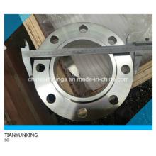 Glissade en acier inoxydable sur brides de tuyaux forgés RF