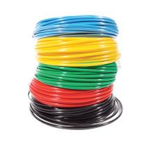 Tuyau flexible coloré de polyuréthane d'air d'unité centrale pour la connexion de circuit pneumatique
