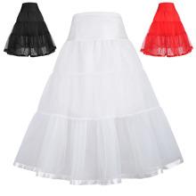 Las muchachas de Karin de la tolerancia dos capas alinearon la enagua de la enredo de la crinolina del vestido retro del vintage 1 ~ 9Years CL010480