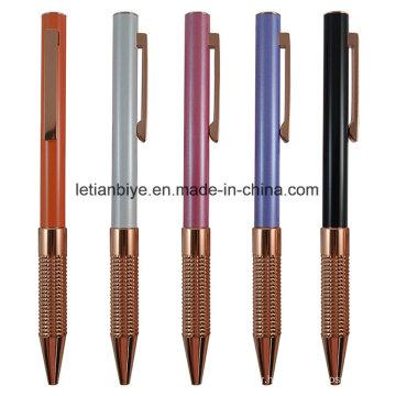 Stylo en métal de cuivre certifié de qualité (LT-C761)