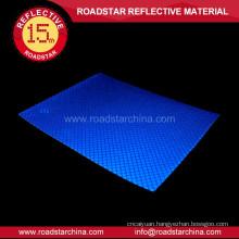 Waterproof polychrome glassbeads reflective vinyl