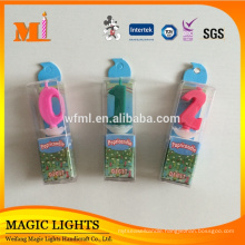 Wholesale Spirtual Color Change Number Candles