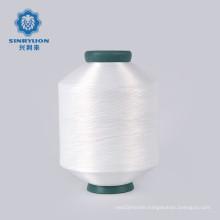 Hot Selling 140Denier48F Semi Dull White Nylon 6 Dty Yarn for woven label