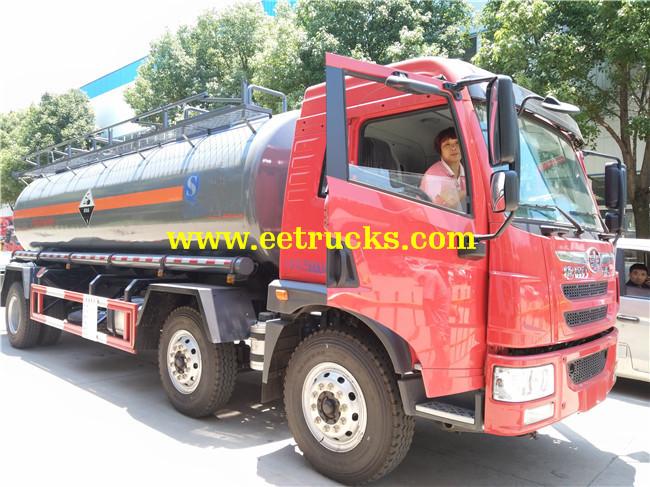 Sodium Hydroxide Tanker Truck