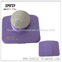 Coussinet de diamant pour meulage de béton