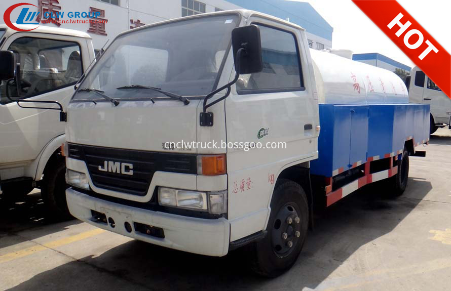 high pressure washer truck