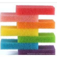 Esponja de filtro colorido espuma