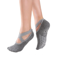 Non slip yoga ankle sock