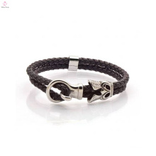 Bulk Custom Fashion Leather Wrap Bracelet For Mens