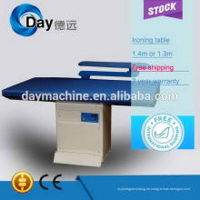 Mesa de planchar al vapor mejor y alta calidad comercial 2014