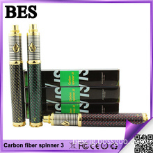 2015 Best Electronic Cigarette Carbon Fiber Vision Spinner 3 with 1600mAh Capacity