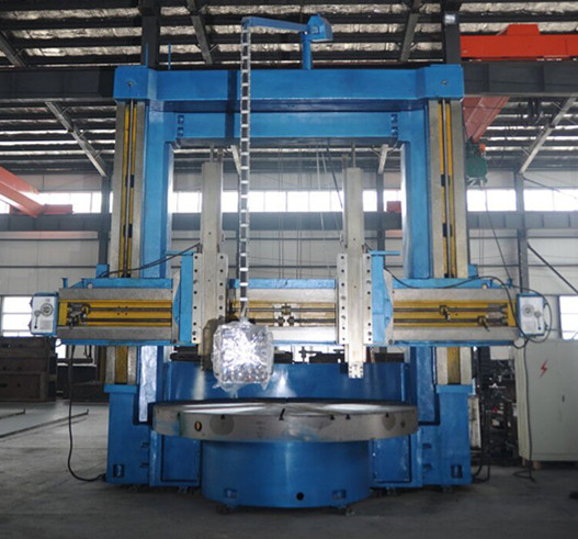 Cnc double column vertical lathe