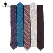 Cravate de soie tissée de haute qualité de soie de jacquard de 100%