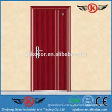 JK-F9013 fair quality wooden fire door emergency exit door with push bar