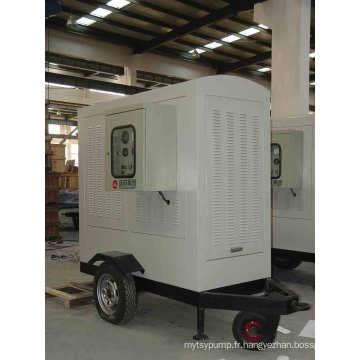 Pompes à eau mobiles d'urgence avec chariot ou remorque