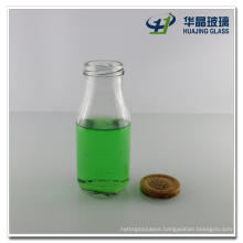10oz Glass Bottle for Beverage, Fruit Juice, Apple Vinegar, with Screw Tin Lid