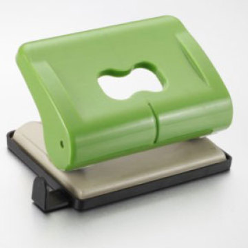 Green Plastic Hole Punch