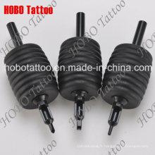 Tout le tube de tatouage jetable en caoutchouc de silicone noir de 38mm 100% Dt-19.2