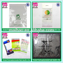 Self Adhesive OPP Plastic Packaging Bag Printing for Makeup Sponge Package