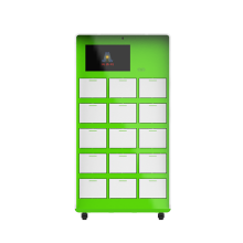 Sweep code fast intelligent shared charging cabinet