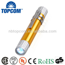 led light pen with a clip for doctor