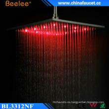 Baño con control de temperatura Temperarure Control de luz LED Top Shower