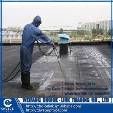 quick setting rubber bituminous waterproof paint