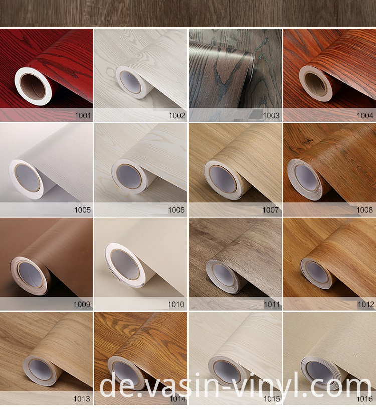 wood grain vinyl film