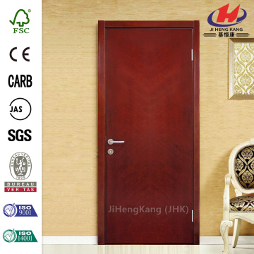 Qingzhou Mini Home Steel Wood Finish Interior Door